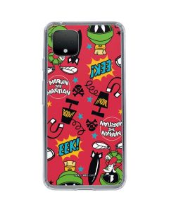 Marvin the Martian Patches Google Pixel 4 XL Clear Case