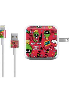 Marvin the Martian Patches iPad Charger (10W USB) Skin