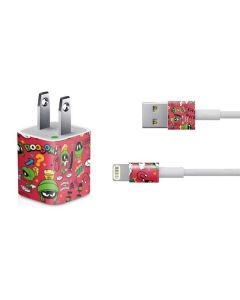 Marvin the Martian Patches iPhone Charger (5W USB) Skin