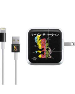Marvin the Martian Sliced Juxtapose iPad Charger (10W USB) Skin