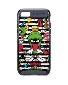 Marvin the Martian Striped Patches iPhone 8 Cargo Case