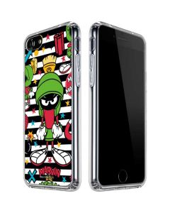 Marvin the Martian Striped Patches iPhone SE Clear Case