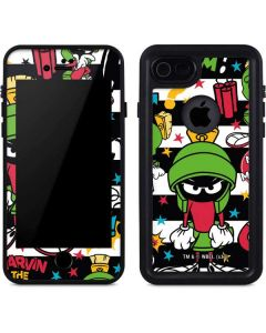 Marvin the Martian Striped Patches iPhone SE Waterproof Case