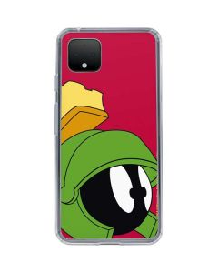 Marvin The Martian Zoomed In Google Pixel 4 XL Clear Case