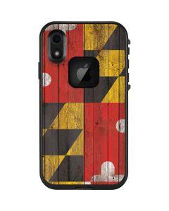 Maryland Flag Dark Wood LifeProof Fre iPhone Skin