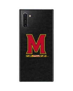 Maryland Logo Galaxy Note 10 Skin