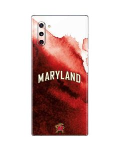 Maryland Red Marble Galaxy Note 10 Skin