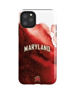 Maryland Red Marble iPhone 11 Pro Max Impact Case