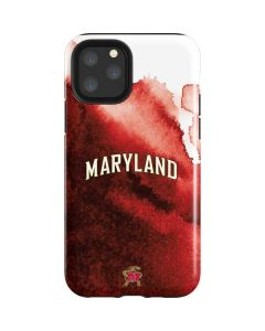 Maryland Red Marble iPhone 11 Pro Impact Case