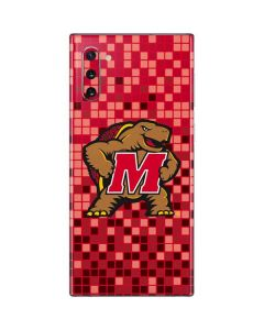 Maryland Terrapins Digi Camo Galaxy Note 10 Skin