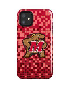 Maryland Terrapins Digi Camo iPhone 11 Impact Case
