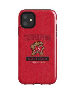 Maryland Terrapins Established 1856 iPhone 11 Impact Case