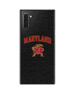 Maryland Terrapins Galaxy Note 10 Skin