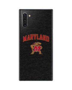 Maryland Terrapins Galaxy Note 10 Skin
