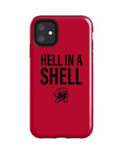 Maryland Terrapins Hell In A Shell iPhone 11 Impact Case