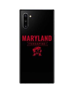 Maryland Terrapins Mascot Galaxy Note 10 Skin