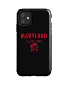 Maryland Terrapins Mascot iPhone 11 Impact Case