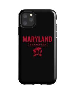 Maryland Terrapins Mascot iPhone 11 Pro Max Impact Case