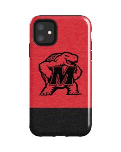 Maryland Terrapins Red Split iPhone 11 Impact Case