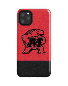 Maryland Terrapins Red Split iPhone 11 Pro Max Impact Case