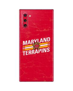 Maryland Terrapins Stripes Galaxy Note 10 Skin