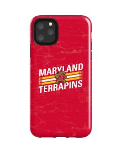 Maryland Terrapins Stripes iPhone 11 Pro Max Impact Case