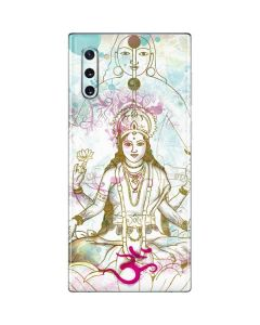 Meditation Galaxy Note 10 Skin