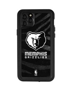 Memphis Grizzlies Black Animal Print iPhone 11 Pro Max Waterproof Case