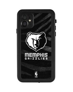 Memphis Grizzlies Black Animal Print iPhone 11 Waterproof Case