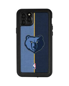 Memphis Grizzlies Canvas iPhone 11 Pro Max Waterproof Case
