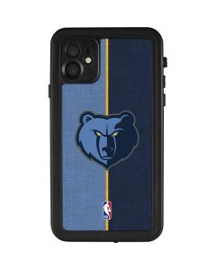 Memphis Grizzlies Canvas iPhone 11 Waterproof Case
