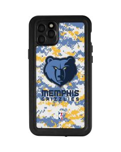 Memphis Grizzlies Digi Camo iPhone 11 Pro Max Waterproof Case