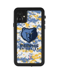Memphis Grizzlies Digi Camo iPhone 11 Waterproof Case