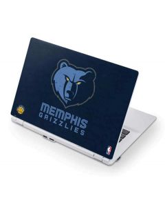 Memphis Grizzlies Distressed Acer Chromebook Skin