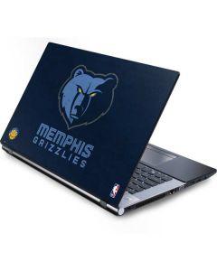 Memphis Grizzlies Distressed Generic Laptop Skin