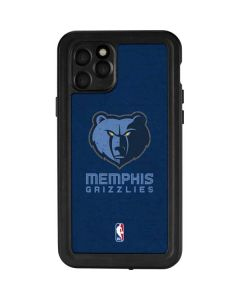 Memphis Grizzlies Distressed iPhone 11 Pro Waterproof Case