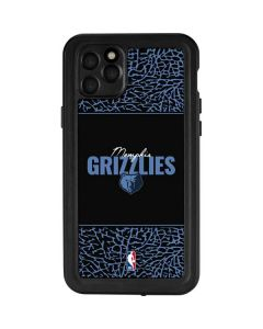 Memphis Grizzlies Elephant Print iPhone 11 Pro Max Waterproof Case