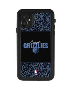 Memphis Grizzlies Elephant Print iPhone 11 Waterproof Case