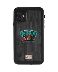 Memphis Grizzlies Hardwood Classics iPhone 11 Waterproof Case