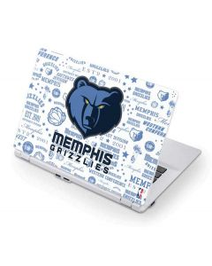 Memphis Grizzlies Historic Blast Acer Chromebook Skin