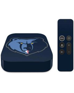 Memphis Grizzlies Large Logo Apple TV Skin