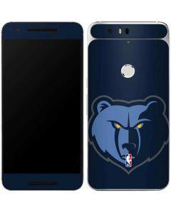 Memphis Grizzlies Large Logo Google Nexus 6P Skin