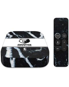 Memphis Grizzlies Marble Apple TV Skin