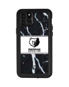 Memphis Grizzlies Marble iPhone 11 Pro Max Waterproof Case