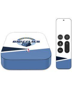 Memphis Grizzlies Split Apple TV Skin