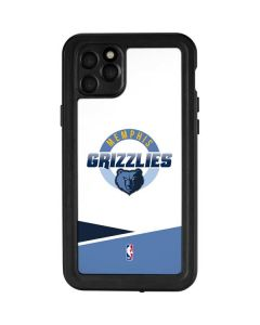 Memphis Grizzlies Split iPhone 11 Pro Max Waterproof Case