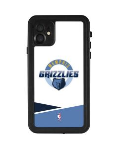 Memphis Grizzlies Split iPhone 11 Waterproof Case