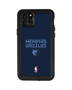 Memphis Grizzlies Standard - Blue iPhone 11 Pro Max Waterproof Case