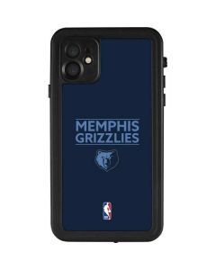 Memphis Grizzlies Standard - Blue iPhone 11 Waterproof Case