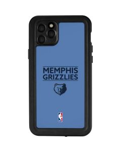 Memphis Grizzlies Standard - Light Blue iPhone 11 Pro Max Waterproof Case